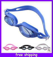 Wholesale Creative designs Advanced silicone one plain water Anti fog swim goggles swimming glasses waterproof