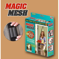 Wholesale New Magic Mesh Hands Free Screen Door Keep Fresh Air In amp Bugs Out Good For Pets