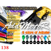 Wholesale Addmotor Foldable Brake Clutch Lever For NINJA R