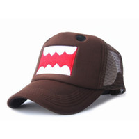 Wholesale retail new arrival domo Kun Hats Mesh Trucker Hat Baseball Caps