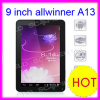 Wholesale inch Android ICS Tablet PC Ultra thin Capacitive AllWinner A13 MID GHz GB