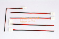 Wholesale connector wires for led strip single color mm ribbon PCB no welding