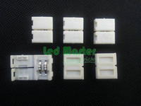 Wholesale easy connectors for led strip single color mm PCB ribbon no welding