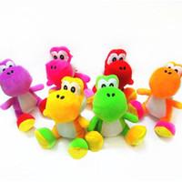 Wholesale super mario bros yoshi minion plush dolls dragon toy cartoon cm colors inches