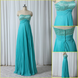 Wholesale In stock ruched beaded sweetheart neck chiffon sheath lady s evening dress price under EV