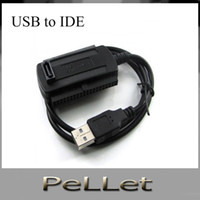 Wholesale New in USB to IDE SATA HD HDD Adapter Cable