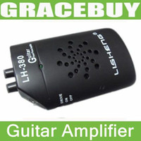 Wholesale Lisheng Lh Portable Audio Guitar Bass Mini Amplifier Clip Amp Headphone Speaker V W