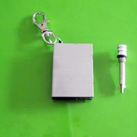 metal metal match lighter - 30pcs Stainless Steel Permanent Fire Metal Match Lighter