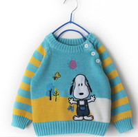 Wholesale wool Cotton year old little dog comfortable sweaters for child