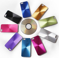 Wholesale Bling CD aluminum chrome shiny hard skin case For iphone G alloy metal cases by dhl