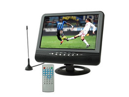 Wholesale 7 inch TFT LCD color Analog TV with wide view angle Support SD MMC Card USB Flash disk AV In Out