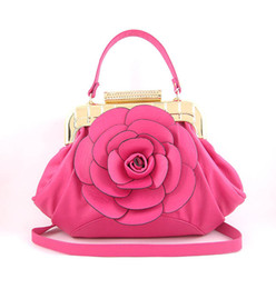 Wholesale Rose Bridal package red female bags shoulder diagonal handbags new