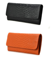 Wholesale Genuine Croco Leather Vintager Designer Women Wallet Clutch Evening Bag Purse