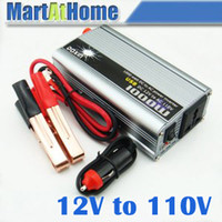 Wholesale 1000W Auto Truck Boat Power Inverter V DC to V AC USB CF
