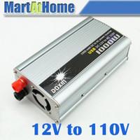Wholesale 10pcs W V DC to V AC USB Car Truck Boat Power Inverter with USB V port SD