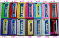 cassette case - Silicone Soft retro Cassette Tape BACK Cover Case for New Apple iPhone S G th