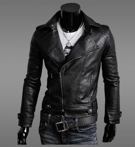 Cheap long mens leather coats – Modern fashion jacket photo blog