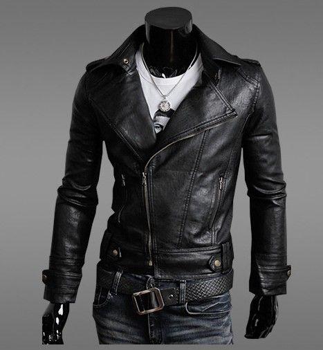 Cheap long mens leather coats – Modern fashion jacket photo blog