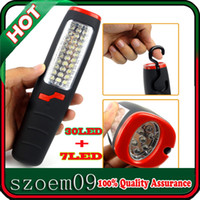 Wholesale New Super Bright LED All Purpose Cordless Strong Magnet Hook Hanging Work Light Flashlight Torch