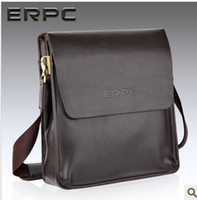 Wholesale Man made Leather Satchel Shoulder Bag Vintage Ipad business and leisure package