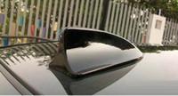 Body car shark fin antenna - Shark Fin Car Roof Anti Static Anti rear end Decorative Antenna Exterior Accessories