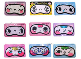 Wholesale Hot SellinG Cute Cartoon Cotton Anti fatigue Cozy Sleep Eye Mask