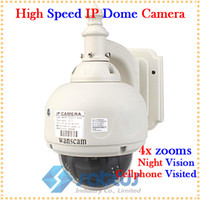 Wholesale WaterProof X Zoom High Speed Dome IP PTZ Camera with m Night Vision and Cellphone Visit Function