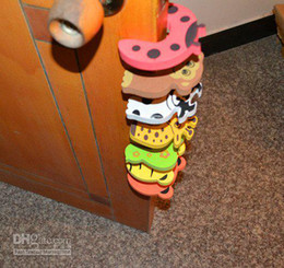 Wholesale 20Pcs Child kids Baby Animal Cartoon Jammers Stop Door stopper holder lock Safety Guard Finger P