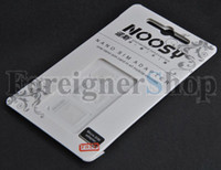 Wholesale 100 SETS in For iPhone S g NOOSY NANO SIM ADAPTER Micro Card