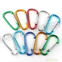 Wholesale Latest Mix Styles Aluminum Carabiner Durable Climbing Hook mm For Outdoorsport