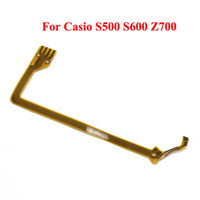Camera Parts Flex Cable Casio Flex Cable For Casio S500 S600 Z700 Yellow Free Shipping 100pcs lot D00085