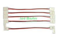 Wholesale connector mm width ribbon single color led strip lights no solder