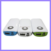 Wholesale Portable mah battery station for digital products power bank for iphone G S3 HTC