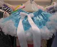 2T-3T angels bow - angel kids tutu lace skirt princess dresses petticoats culottes skirt underdress girls clothing P39