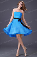 Wholesale 7Colors Hot Lady Gown Party Evening Cocktail Short Dress Soft Chiffon CL1091