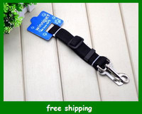Wholesale Hot Selling Dog Seat Belt Adjustable Pet Cat Dog Safety Leads Car Seat Belts Colors