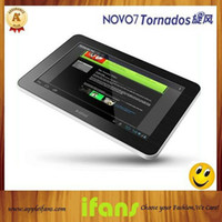 Wholesale 7 quot Ainol NOVO Tornados Capacitive Screen Ainol Android OS GB G DDR3 AMLogic GHz Tablet PC