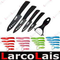 Wholesale Ceramic Knife Set Peeler with Scabbard