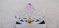 plastic tiaras - miss Plastic Crown Wedding Crown Tiara Hair Ornaments Party tiara Party Toys Dancing dress ac