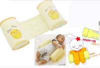 Wholesale Babies pillow shape special pillow to correct flat head anti roll pillow