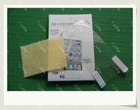 Wholesale Clear film Screen Guard protector for the new iphone G S C WITH RETAIL PACKAGE