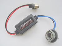 Wholesale Error free P21W BA15S S25 Light Bulb Warning LED Decoder Canceler Load Resistor Socke