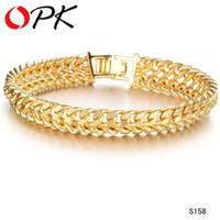 Charm Bracelets allergy charms - JEWELLERY cool man K GOLD GP BRACELET chain bracelets for men never fade anti allergy