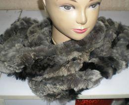 Rex Rabbit Fur Neckscarf Scarves Neck Warmer NEW ARRIVAL#2323