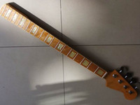 Wholesale 4 Strings neck for electric bass by maple for fender