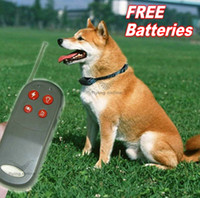 Wholesale 4in1 Anti Bark m Pet Dog Training Collar Remote Vibra amp Shock Electric Control