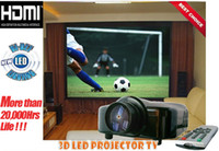 1080i home projector - HD Ready i Potable LED Projector Wtih HDMI Port LED video projector for home cinema