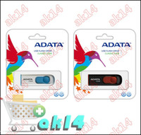 Wholesale 32GB ADATA C008 USB Flash Drive Flash Drives Memory Sticks Pen Drive Disk Thumbdrives Pendrive