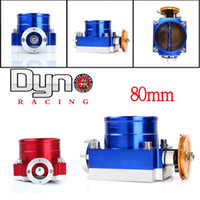 Wholesale UNIVERSAL mm THROTTLE BODY red blue