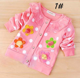 Wholesale Fashion Clothes Girls Clothing Children Cardigan Sweater Kids Outfits Cotton Child Coats Stores